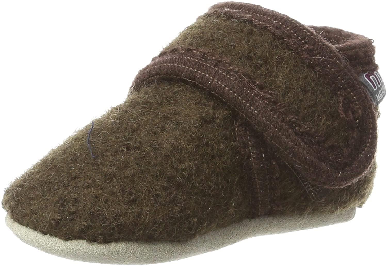 Melton Unisex Baby Wool Velcro Shoe