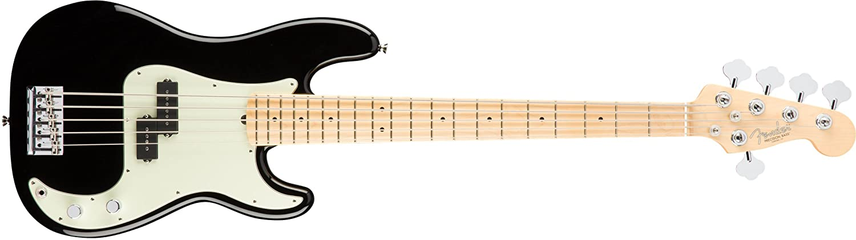 Fender American Professional Precision Bass V Maple Fingerboard Black