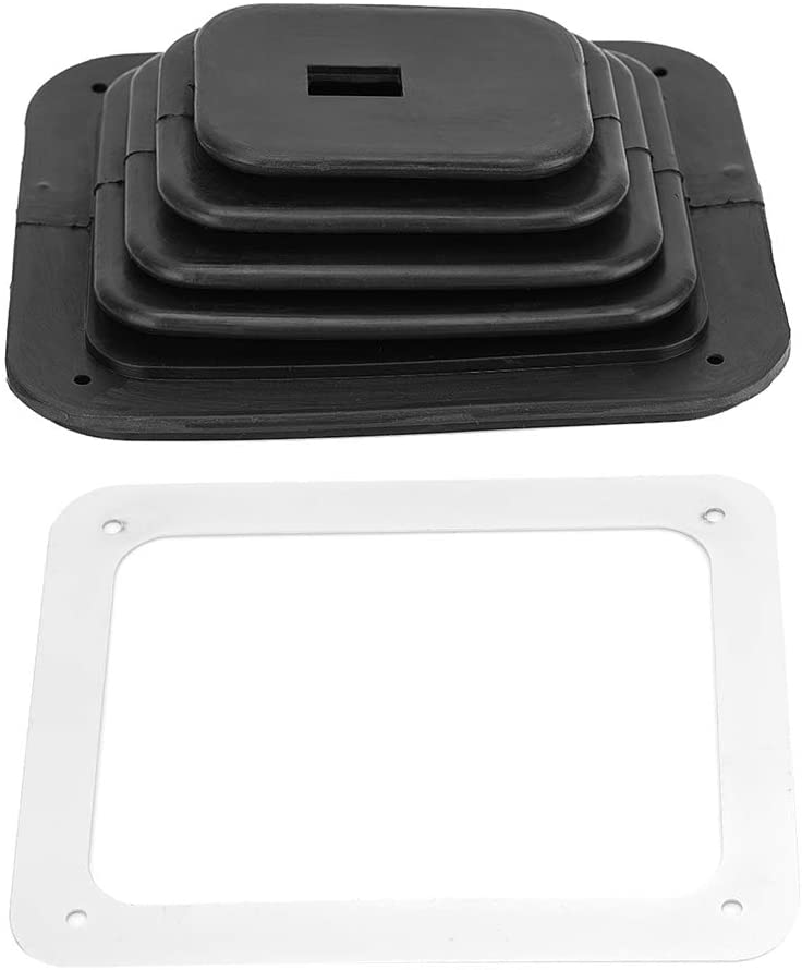 LeKu Gear Shift Gaiter Boot, Rubber Car Shifter Cover Replacement Accessories Parts for GM350