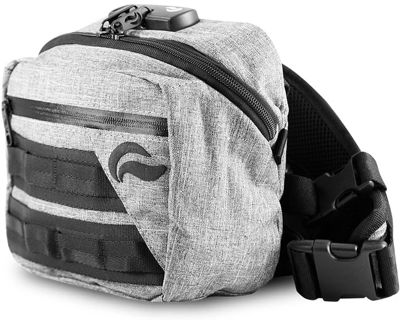 Skunk Kross Smell Proof Fanny Pack Hipster Bag w/Combo Lock