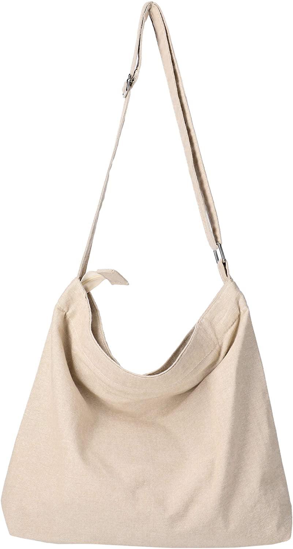 Lakelynn Harbor Tote bag for women Canvas crossbody hobo purse handbag with zipper