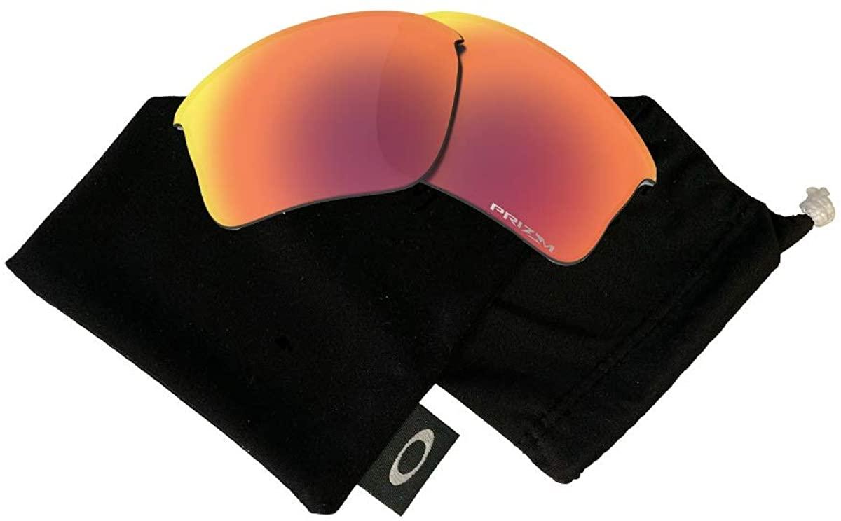 Oakley Original Flak Jacket XLJ OO9009 Replacement Lenses For Men For Women+BUNDLE with Oakley Microfiber Cloth Bag