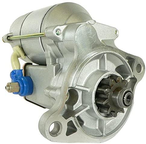 Rareelectrical NEW STARTER MOTOR COMPATIBLE WITH CATERPILLAR FORKLIFT V50C V51 V40C V45C V35A 128000-1770