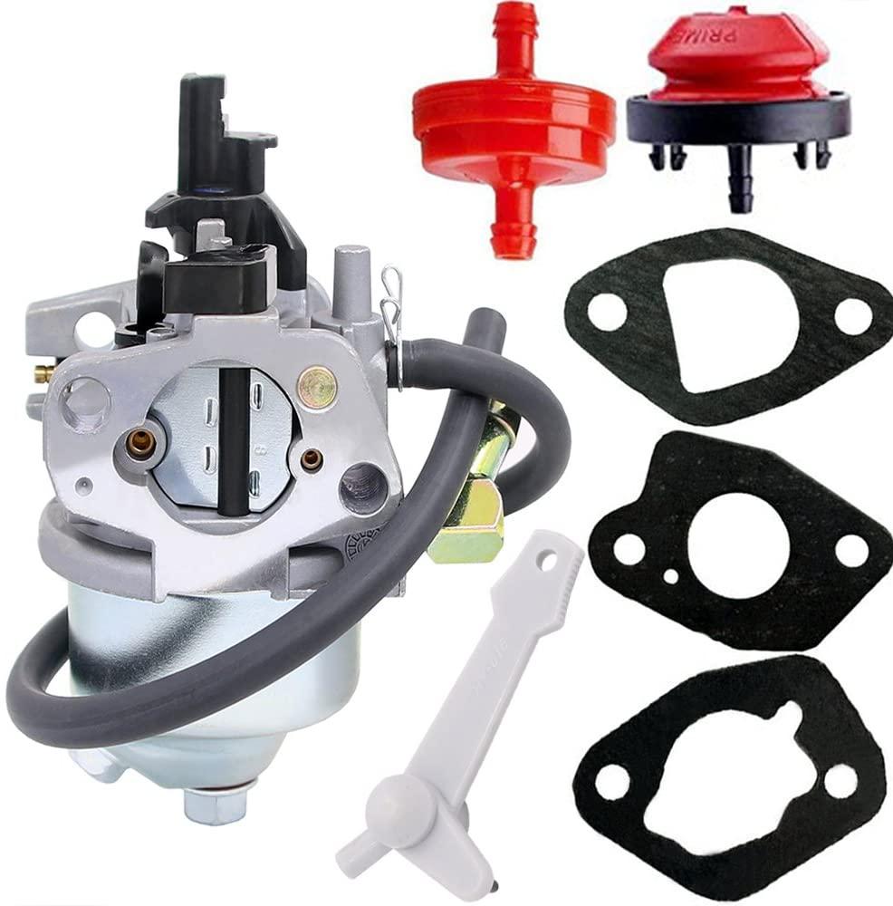 HOOAI Carburetor for Toro Power Clear 421 & 621 19-1996 120-4418 120-4419 Models 38451 38452 38453 38454 38458 38459 38567 38588 Snow Thrower (19-1996)