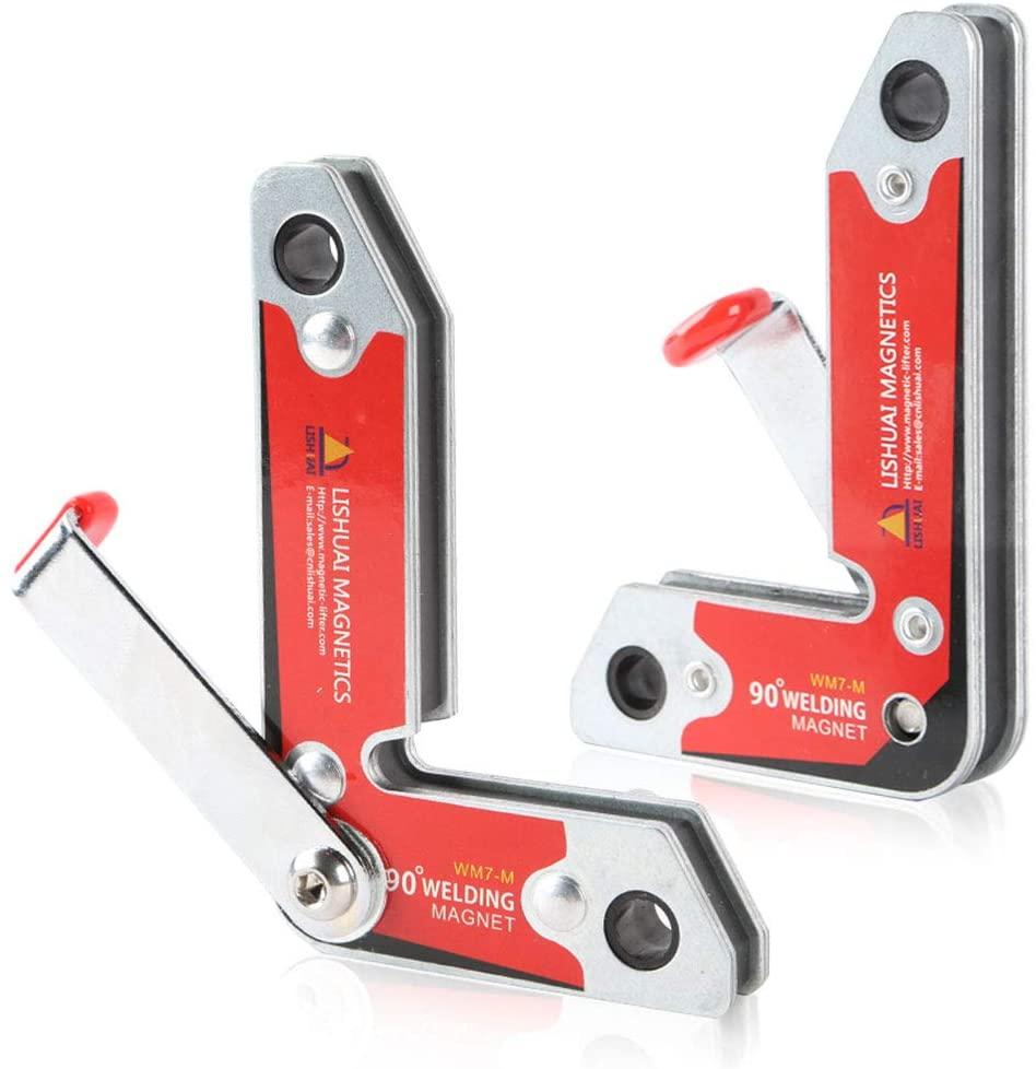 2pcs Inside/Outside 90 Degree Neodymium Welding Magnets Holder/Strong 30 60 90 Angles NdFeB Magnetic Clamp