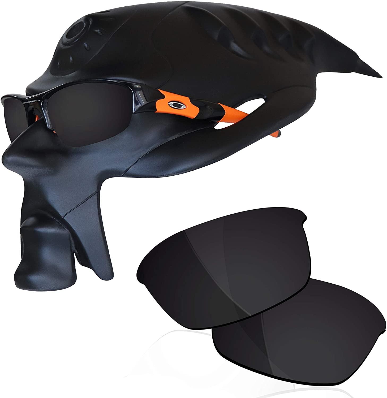 RockShell Polarized Lenses Replacement for Oakley Flak Jacket Sunglasses