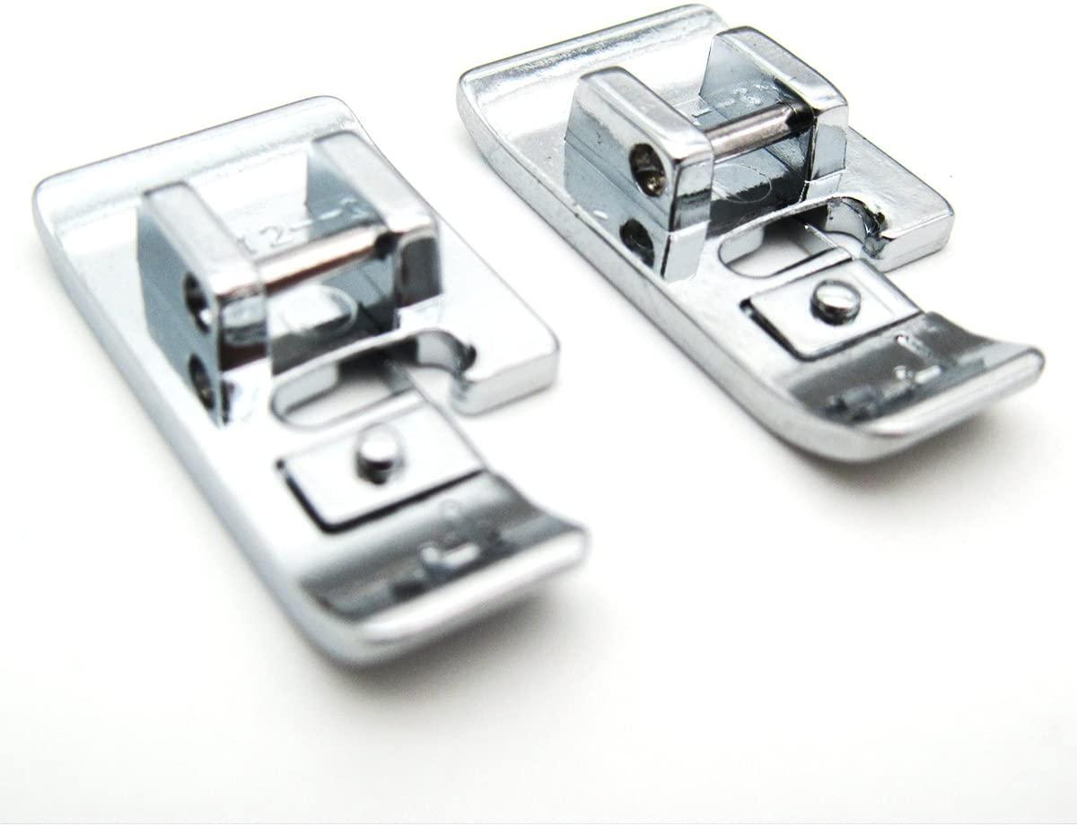KUNPENG - #412-3806 2PCS for Husqvarna Viking Edging Foot (J) Designer Rose Prelude Platinum Scandinavia