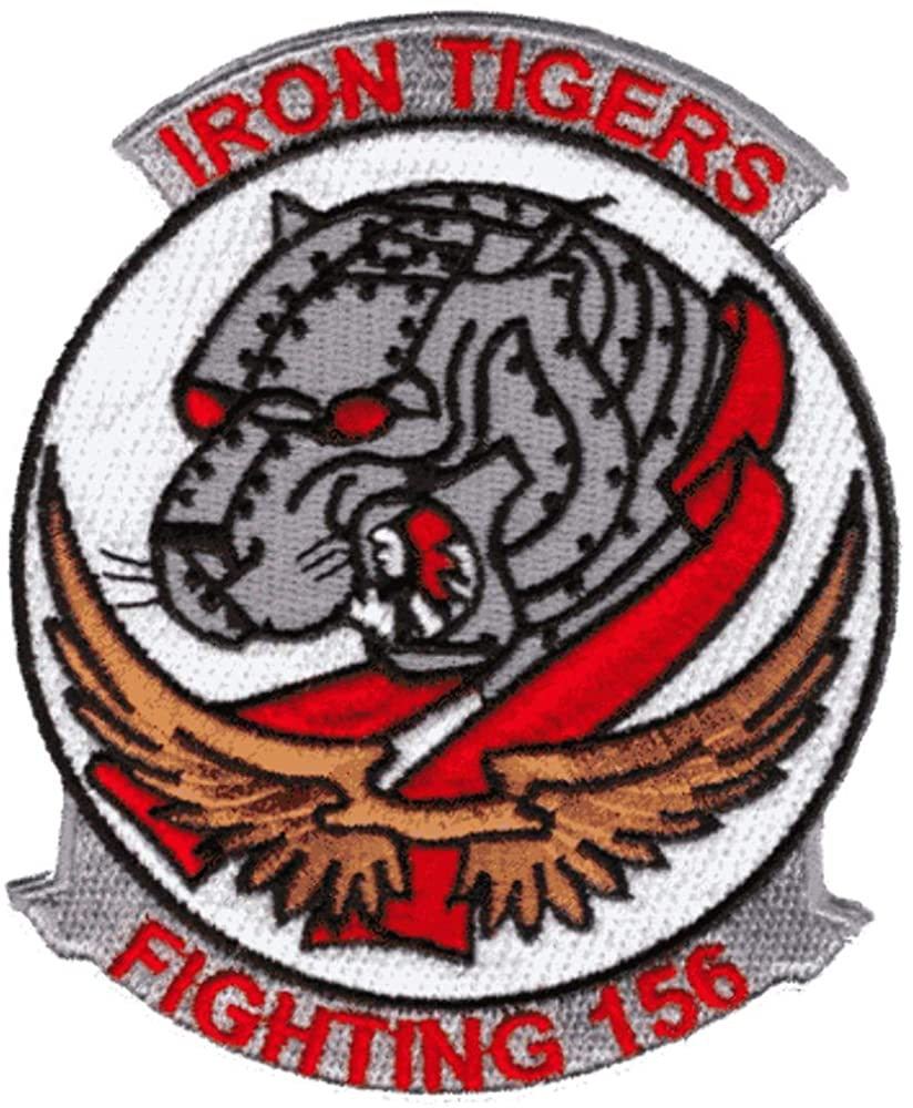 VA-156 Iron Tigers Squadron Patch – Sew on