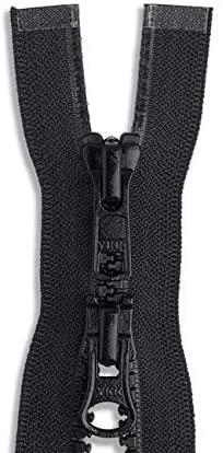 Molded Plastic Two-Way Jacket Zipper 27