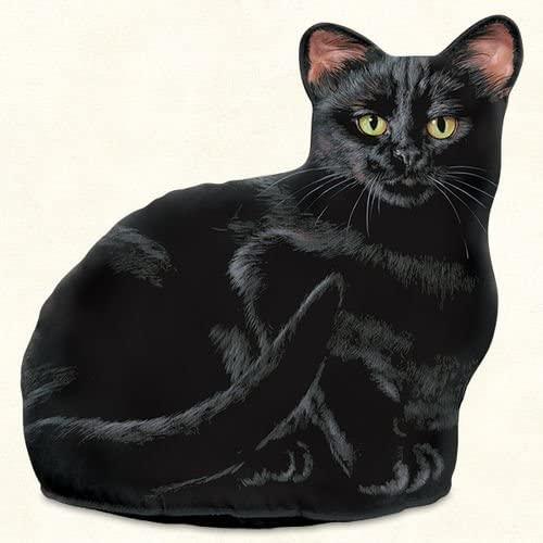 KensingtonRow Home Collection Doorstops - Black Cat Door Stop - Cat Door Stopper
