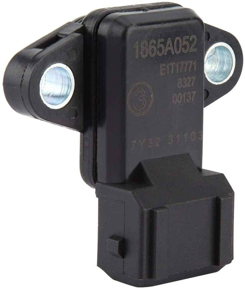Anifold Pressure Sensor - Automotive Manifold Air Pressure Sensor MAP Stable 1865A052 Compatible with Mitsu-bishi La-ncer