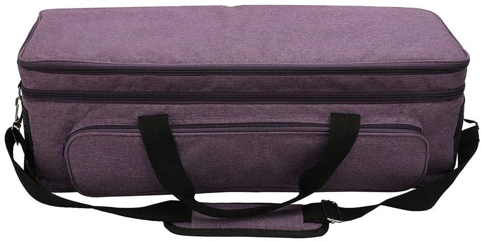 Portable Carrying Bag Compatible with Heavy Duty Sewing Machine Handle, Heavy Duty Durable Tote Carrying Case, Die-Cut Machines Storage Bag Accessory Storage Bag