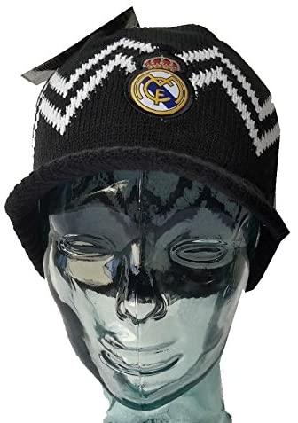 Real Madrid Beanie Visor Black New 2014-2015 WINTER SKULL CAP