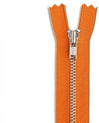 LAKESSTORY Orange Nickel Zipper 14 inch Zip for Sewing Craft