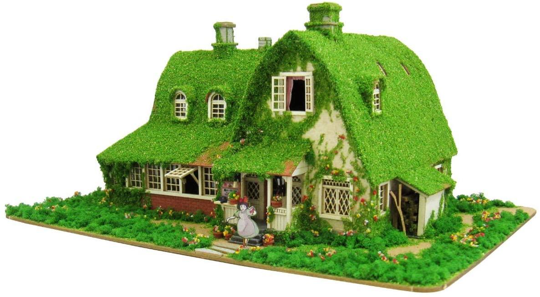 1/150 Studio Ghibli series Kiki's Delivery Service Kiki and Jiji house (Okino House) MK07-22 Paper Craft
