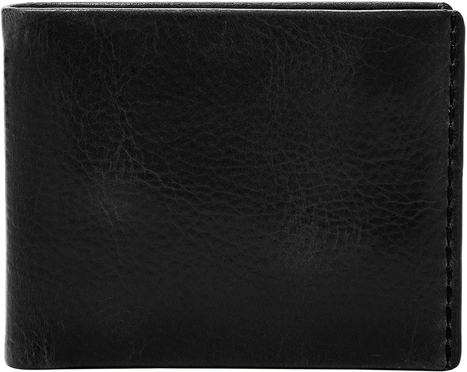 Fossil Mens Beck Leather Bifold Flip ID Wallet