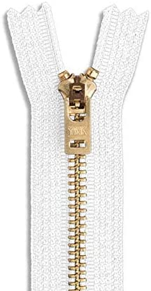 Brass Jean Zipper 9
