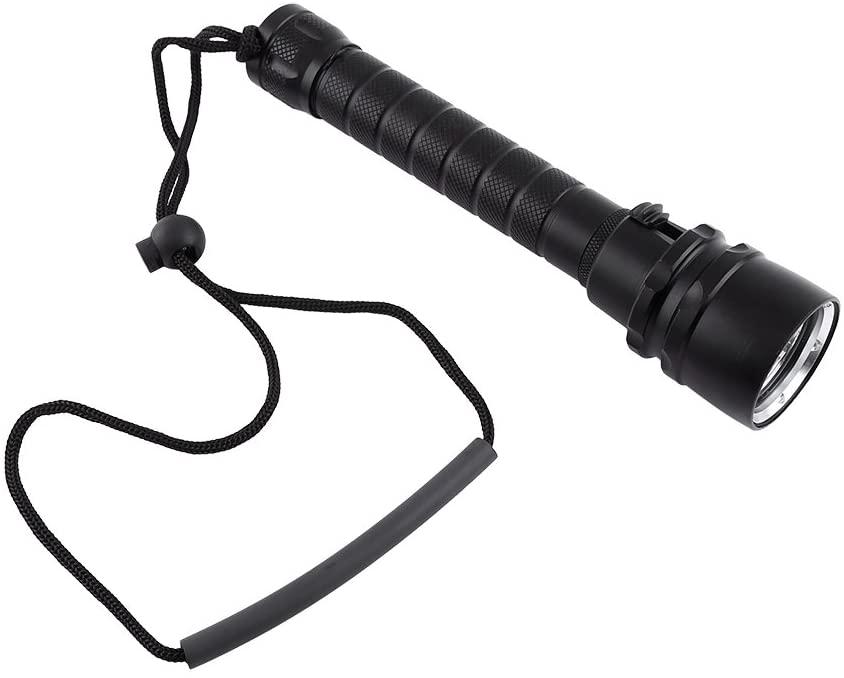 LetCart Diving Flashlight 2000LM Underwater 100m 3 x T6 LED Diving Flashlight Dive Torch with Hand Strap