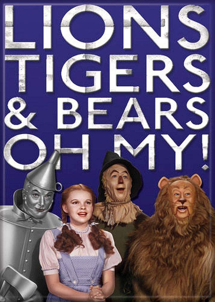 Ata-Boy Wizard of Oz 'Lions, Tigers and Bears, Oh My!' 2.5