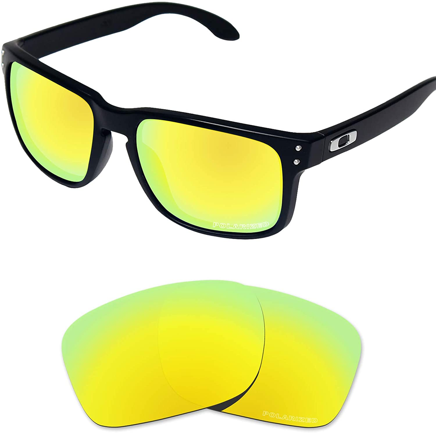 Tintart Performance Lenses Compatible with Oakley Holbrook XL Polarized Etched