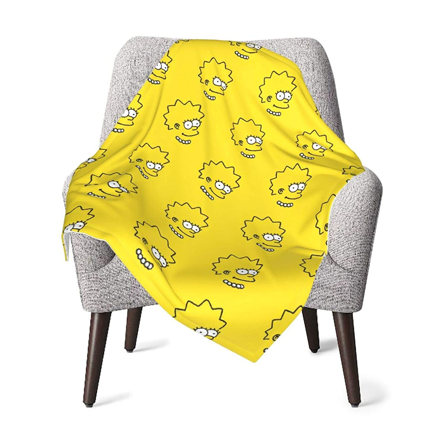 The Simpsons Baby Blanket Super Soft Plush Blankets 30x40