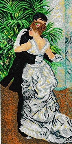 Printed Canvas for Tapestry Embroidery Gobelin Needlepoint (Dance 1429)