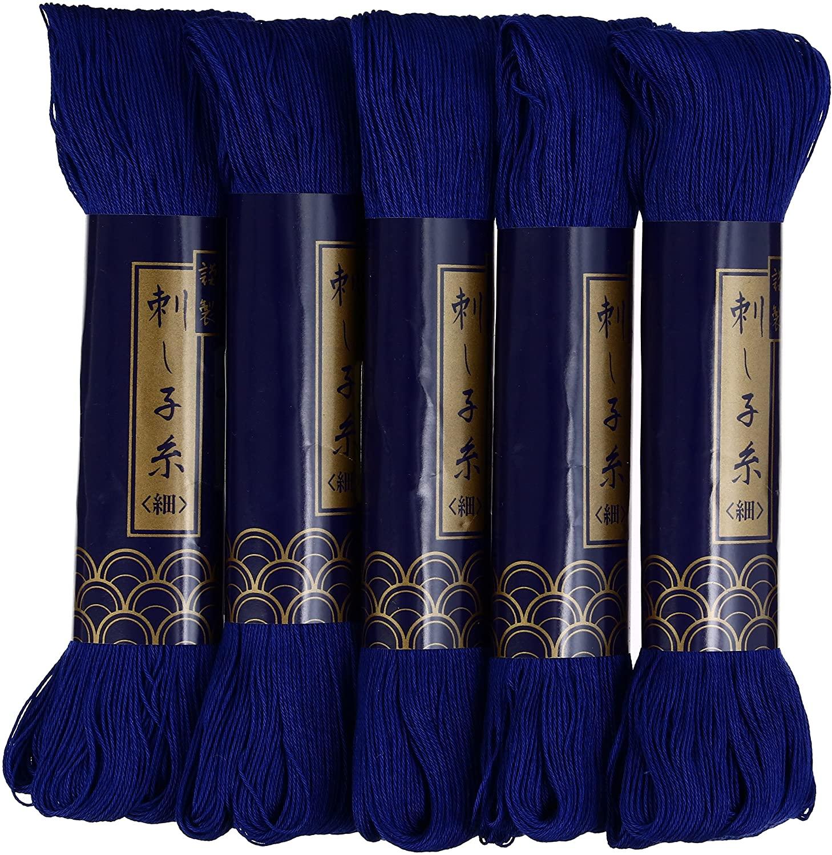 Sashiko thread-thin 170m col.6 5X1 by YOKOTA