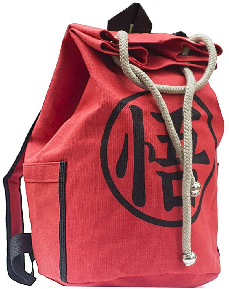 Drawstring Sport Backpack Yoga Rucksack Workout Beach Bag for Soccer Basketball