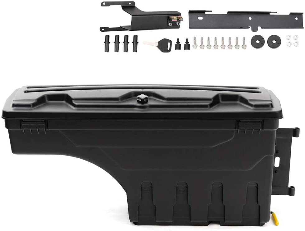 Compatible for Ford F-250 F-350 Super Duty 2017-2020 Drivers Side Truck Bed Storage Tool Box