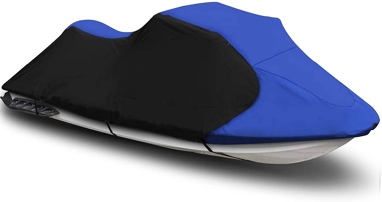 maXpeedingrods Jet Ski Trailerable Cover for Seadoo Bombardier PWC GT GTS GTX 1996-2010 600 Denier