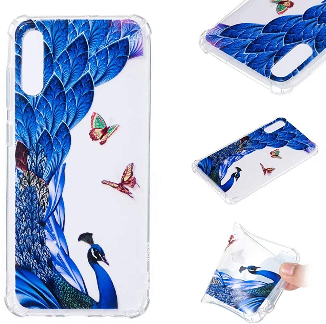 Kingtorn Galaxy A70 Case Clear, Samsung Galaxy A70 Case for Girls, Slim Fit Shockproof Dust Proof Shell with Resistant TPU Back Protective Case for Samsung Galaxy A70