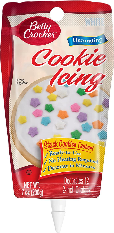 Betty Crocker Cookie Icing, White, 7 oz