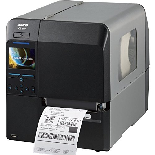Sato WWCL30061 Series CL4NX High Performance Thermal Printer, 609 dpi Resolution, 6 IPS Print Speed, Serial/Parallel/Ethernet/USB/Bluetooth Interface, 4