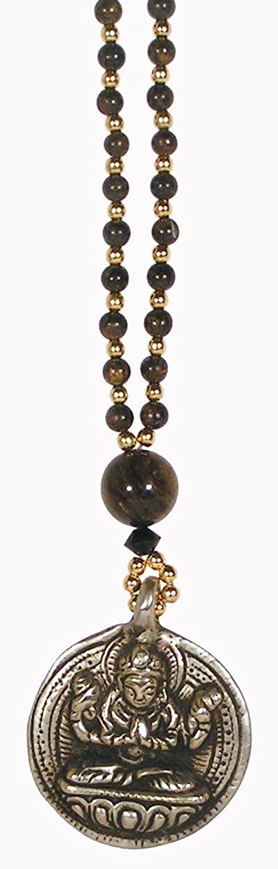 Dakini Designs Tibetan Chenrezig Necklace/Naga Land Tibet Sacred Stones Amulet