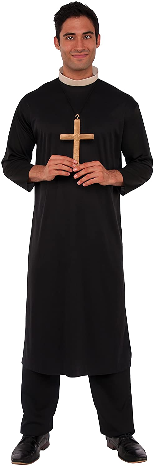 Rubie's Co Haunted House Collection Priest Costume