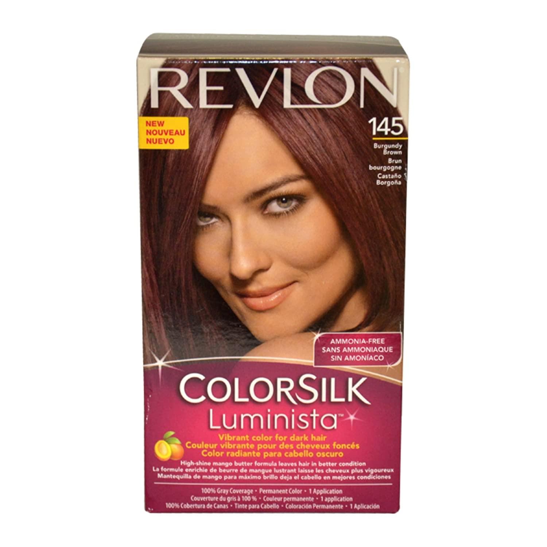Revlon ColorSilk Luminista Haircolor, Burgundy Brown