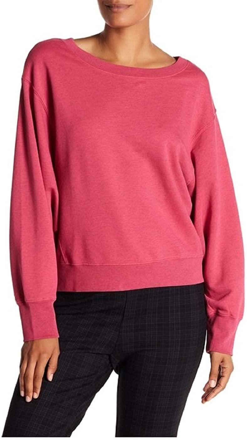 Sanctuary Clothing Nolita Sweatshirt Small Pink