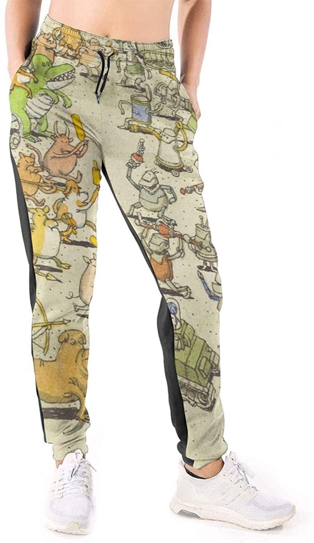 XiteSima Dance Gavin Women Joggers Pants Sports Trousers with Drawstring Personality Casual Sweatpants