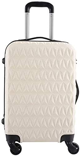 XKstyle Male and Female Lightweight ABS Suitcase Suitcase 20 Inches 24 Inches Business Suitcase Luggage (Size : 24)