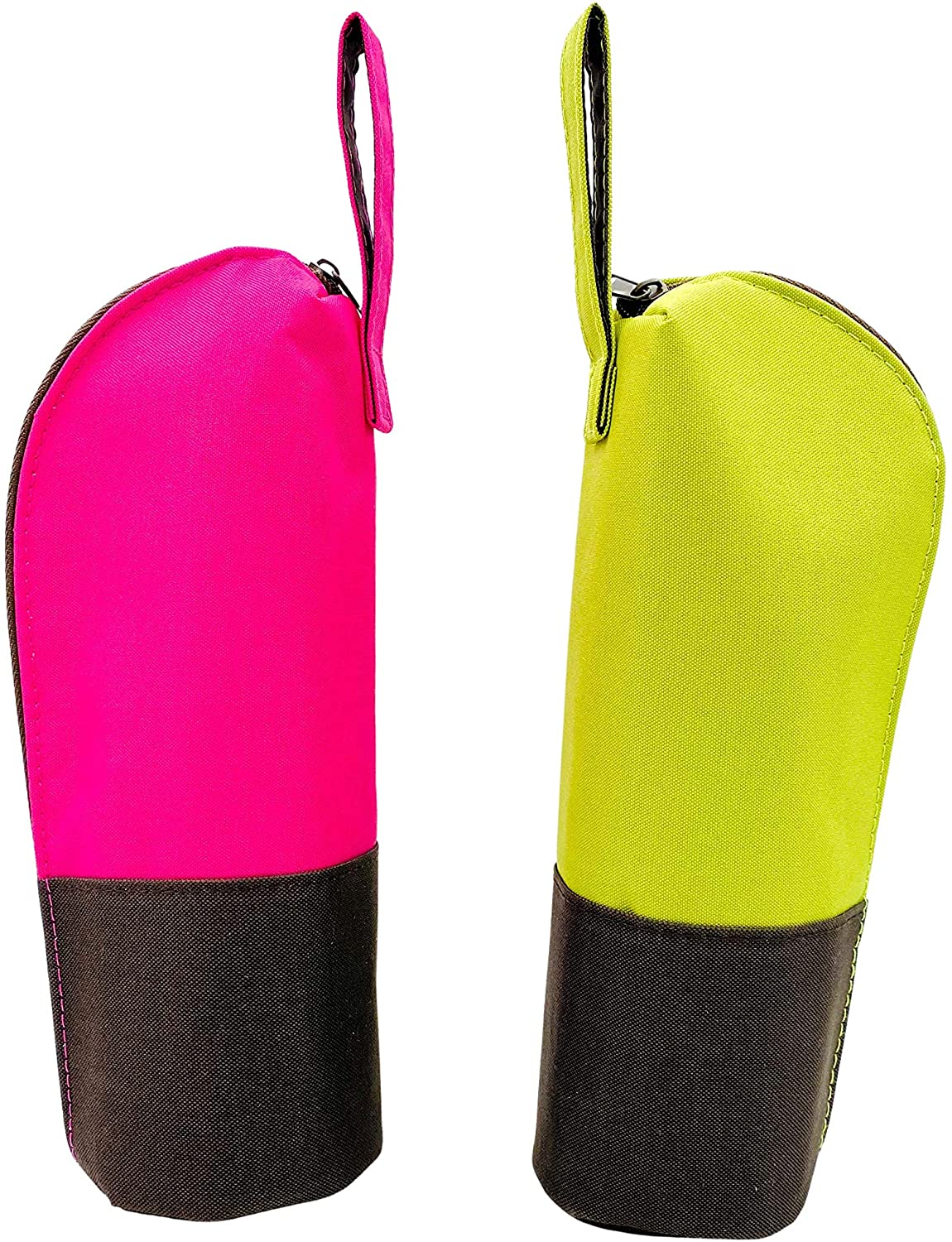 Bottle Holder (Pack of 2 Green and Pink) | Great for travel and keeping your bottle clean while outdoors