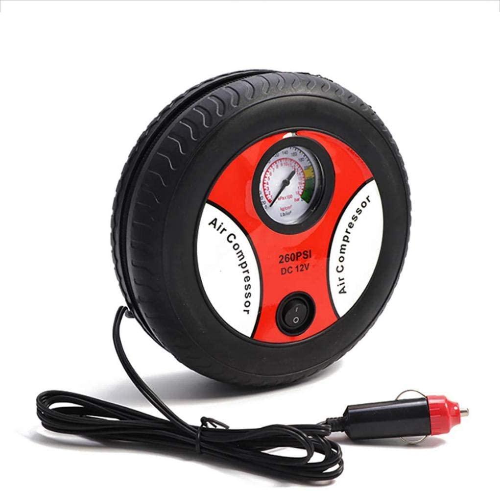 HUATINGRHPM Electric Car Tire Inflator, Car Portable Air Compressor Pump 260 PSI Car Air Compressor for Car Motorcycles Bicycles