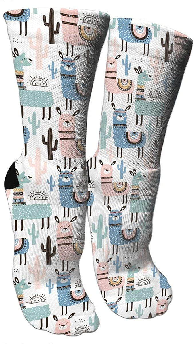 Cow Print Dress Socks for Men& Women Funny Novelty Crazy Casual Cute Cool Colorful Fancy Cotton Athletic Crew Socks