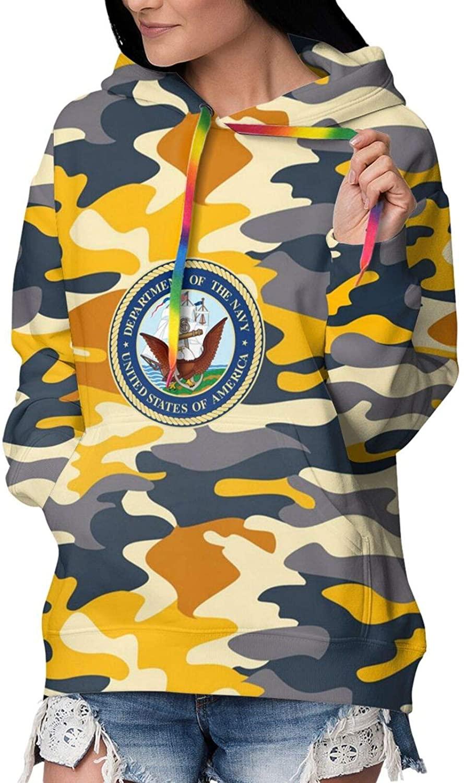 USS John S McCain Women's Hoodies 3D Pullover Warm Hooded Sweatshirt Hoodies