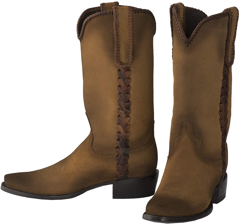 Lane Men's Bodega Western Cowboy Boot Sandstone/Cognac