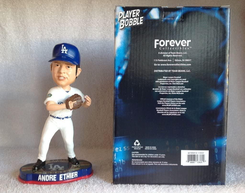 Forever Collectibles Andre Ethier LA Dodgers Logo Base Bobble FOCO '12 Bobblehead