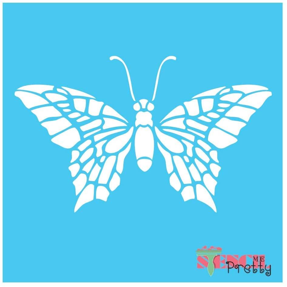 Simple Butterfly Stencil-XL (23