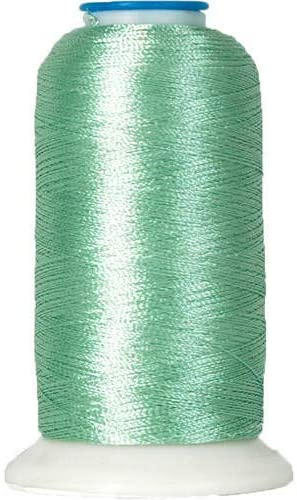 Threadart Polyester Machine Embroidery Thread By the Spool - No. 370 - Mint Green - 1000M - 40wt - 220 Colors Available