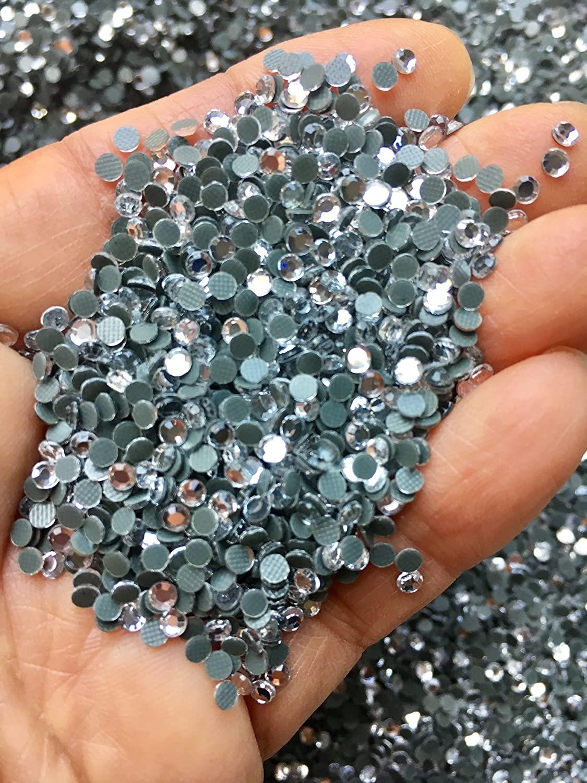 3mm 10ss Clear Hotfix 20,000PCS Rhinestone Iron On Loose bulk +Free Star Decal! ~Rococo Designs~