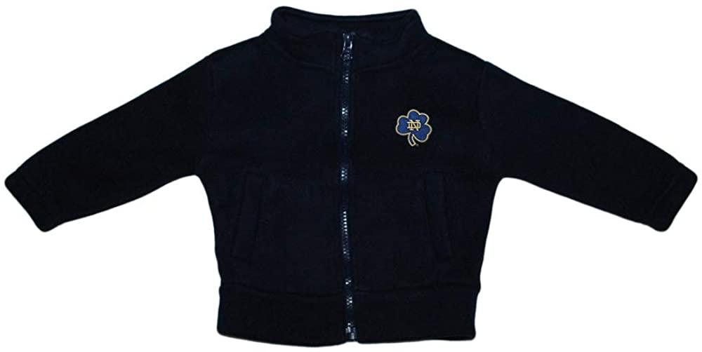 Creative Knitwear University of Notre Dame Shamrock Baby Polar Fleece Jacket
