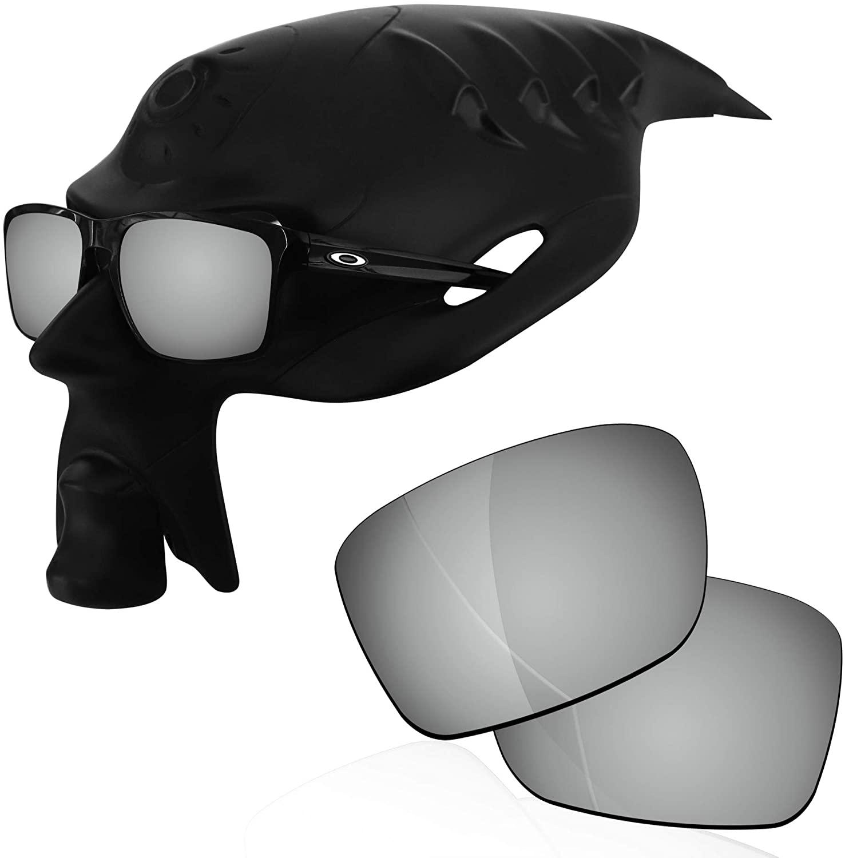 RockShell Polarized Lenses Replacement for Oakley Sliver OO9262 Sunglasses